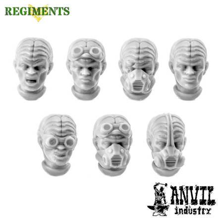 Picture of Female Alien Hybrid Heads (7)
