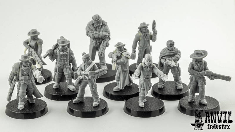 Space Western Crew for Stargrave