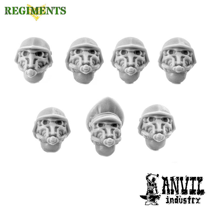 Iron Corps Helmets with Gasmasks