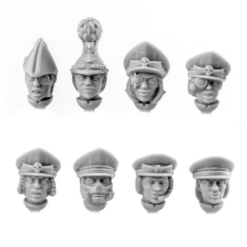Officer Heads (female) [+€0.58]