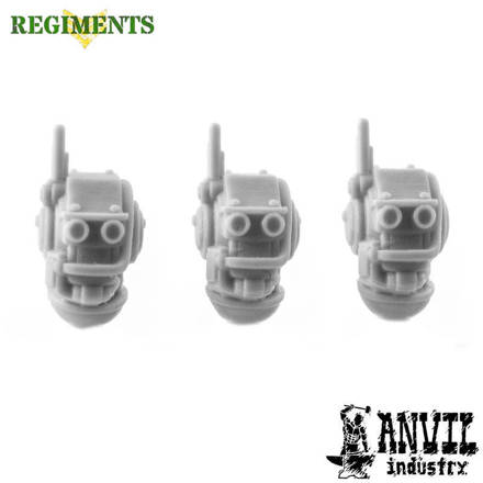 Picture of Regiments Automata Humanoid Heads (3)