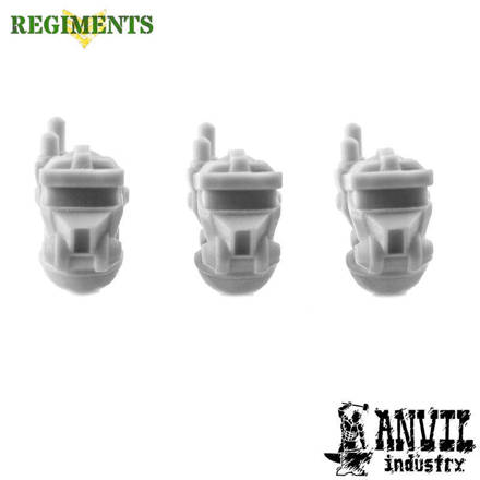 Picture of Regiments Automata Industrial Heads (3)