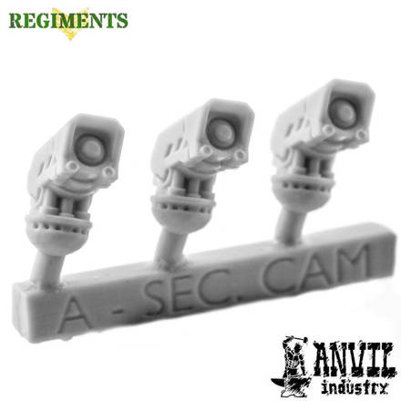 Picture of Regiments Automata Security Camera Heads (3)