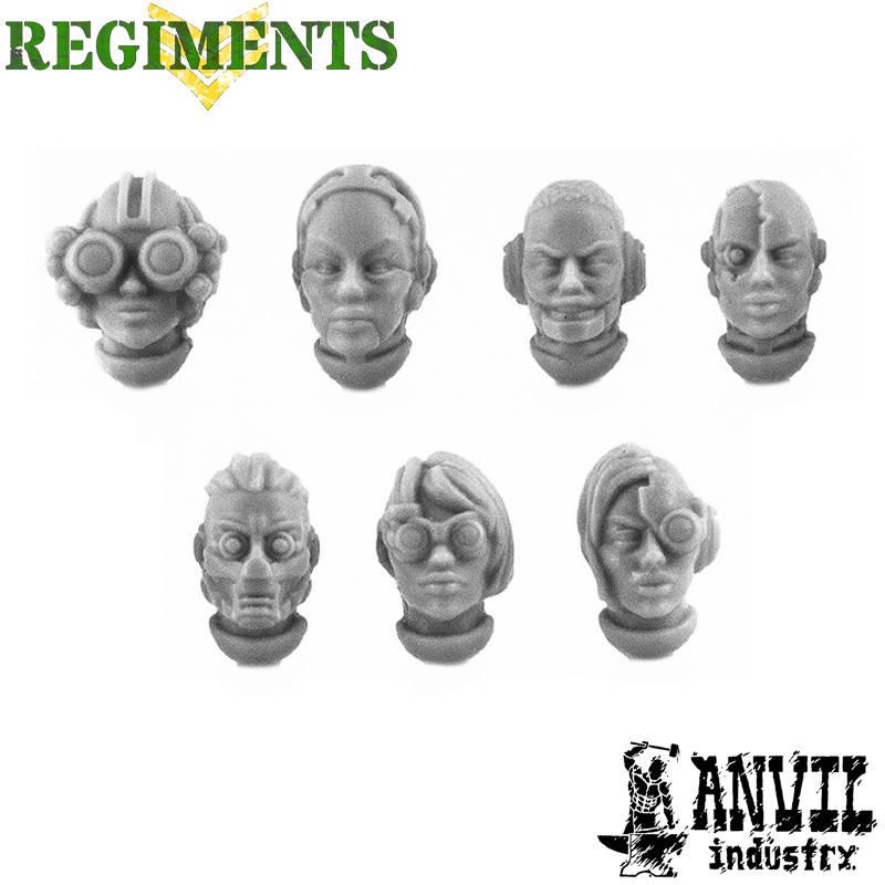 Female Bionic Heads