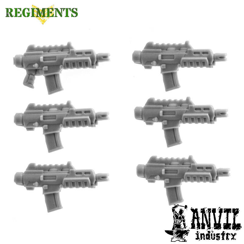 G36 Rifles with Recoil Compensators