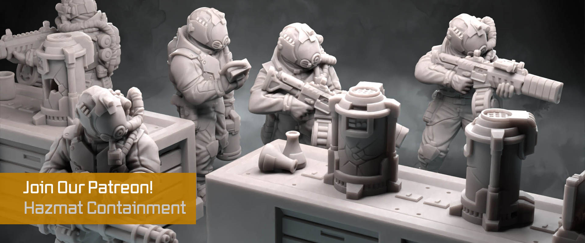 3D Printable Wargaming Miniatures