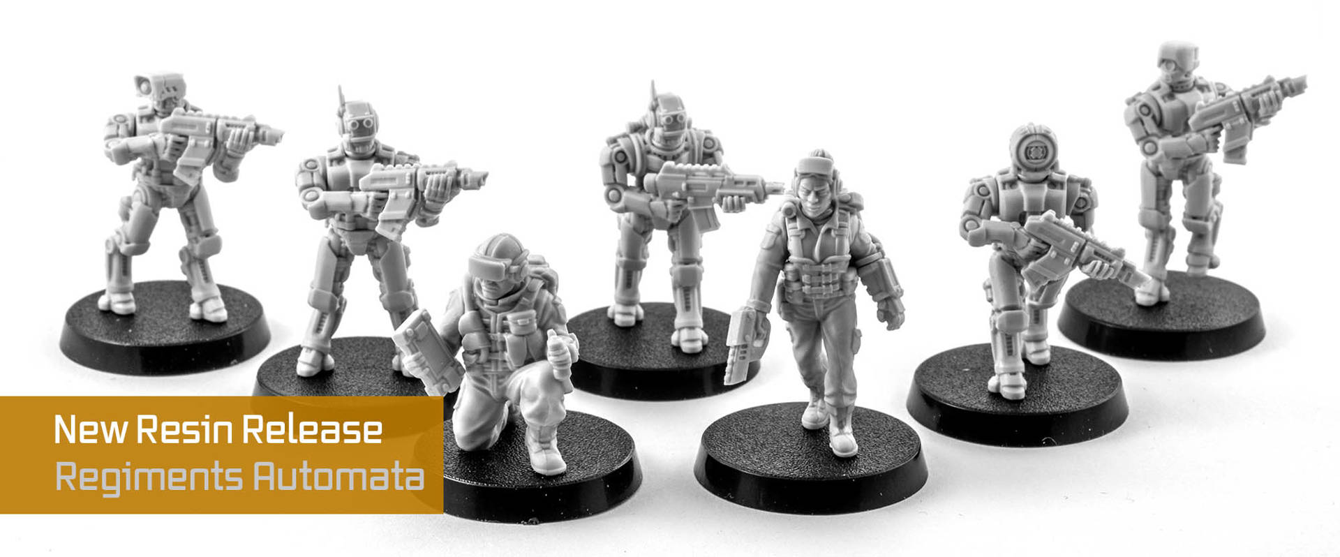 Regiments Automata Robot Wargaming Miniatures