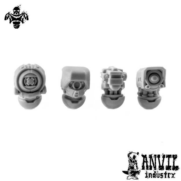 Picture of Exo-Lord Mixed Automata Heads (4)