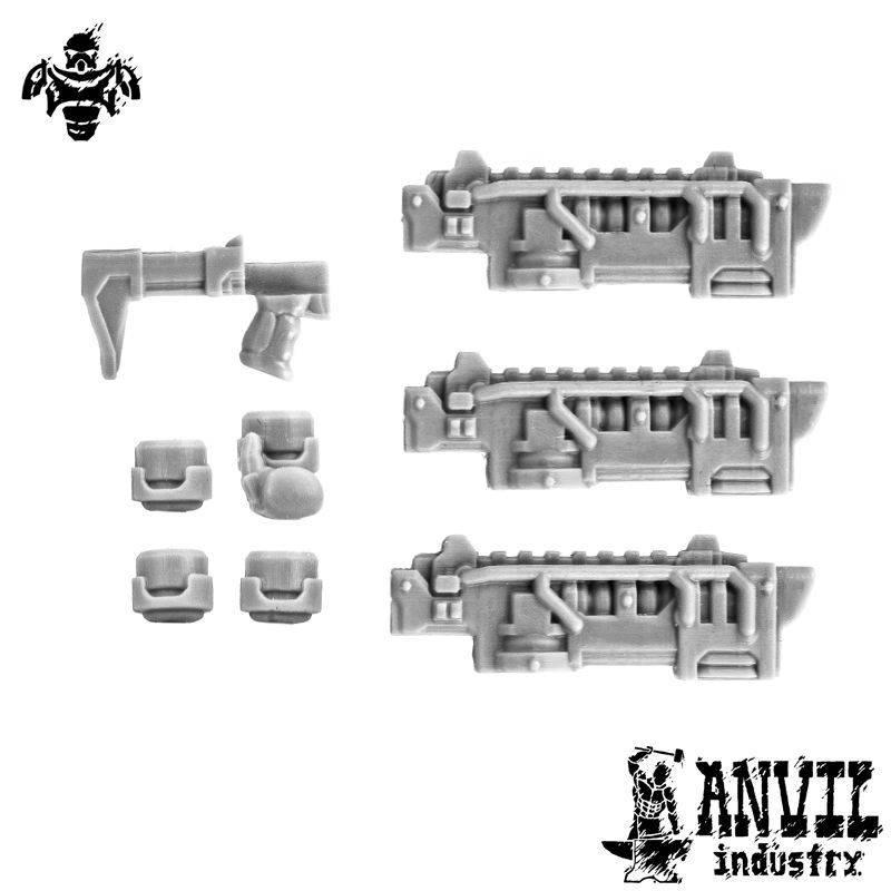 Ion Rifles