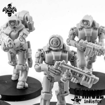 Picture of Exo-Lord Automata Combat Squad (3)