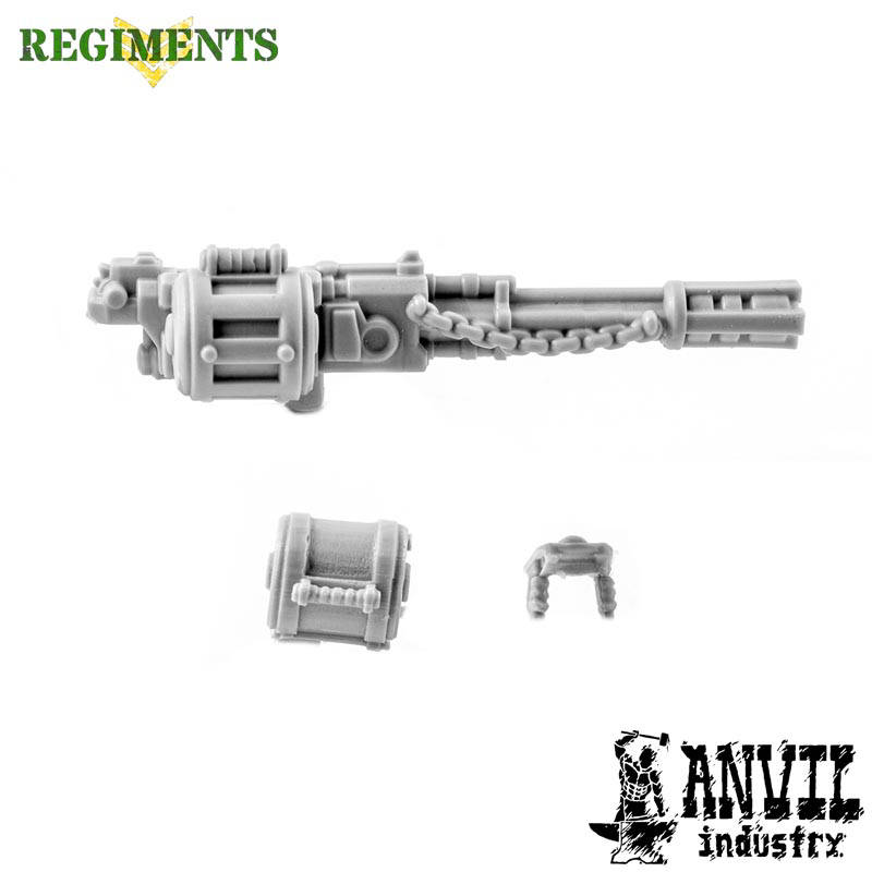 Gothic Autocannon with Chains