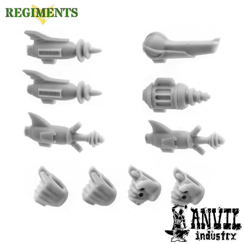 Retro-Future Ray Gun Pistols